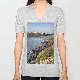 Porth Seascape Unisex V-Neck