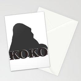 Koko the Gorilla Stationery Cards