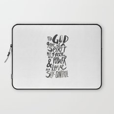 2 Timothy 1: 7 Laptop Sleeve