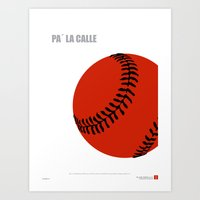 CUBA: Pa' la Calle (Hit the Streets) Art Print