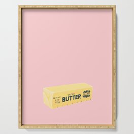 The Butter The Better Serving Tray