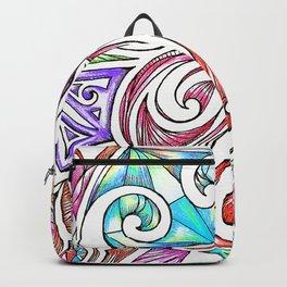 Lotus Maori Huia Art Backpack