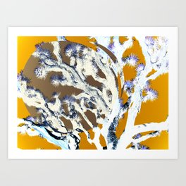 yoshua tree Art Print
