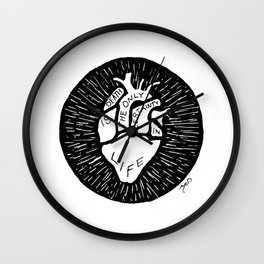 Death Is The Only Certainty In Life Wall Clock
