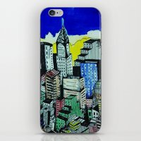 buildings iPhone & iPod Skins featuring buildings by Halley's Coma