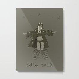 iamamiwhoami; idle talk Metal Print