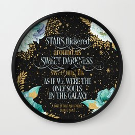 A Court of Frost and Starlight - Sarah J Maas Wall Clock