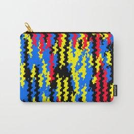Jamaican Raggie Digital Glitch - Visual Graphic Design Carry-All Pouch