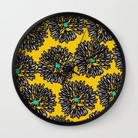 indigo Wall Clocks featuring Indigo by Simi Design