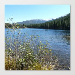 Bear Lake, Rock Mtn National Park Canvas Print