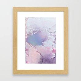 BETTER TOGETHER LAVENDER by Monika Strigel Framed Art Print