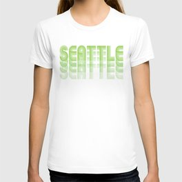 Seasons K Designs Seattle Fade T-shirt