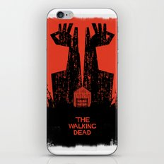 The Walking Dead. iPhone & iPod Skin