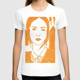 WUTHERING HEIGHTS - LINO (ORANGE VERSION)  T-shirt