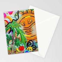Taino Echoes - Puerto Rico Tribal Ethnic Art Stationery Cards