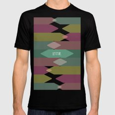 Let it be. Mens Fitted Tee 2X-LARGE Black