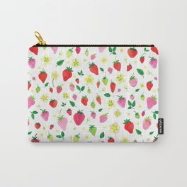 Summer Strawberry Fields Carry-All Pouch