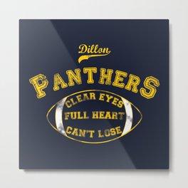 Dillon Panthers Metal Print