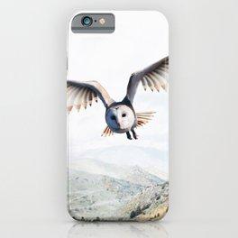 Pencil Owl iPhone Case
