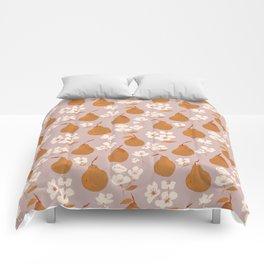 Fall Pears Comforters