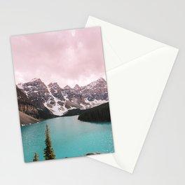 Moraine Lake Banff National Park Stationery Cards