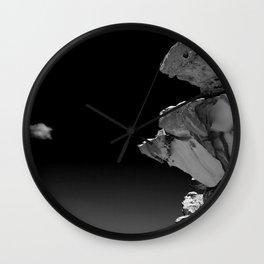Bondi Beach Rock Formation Wall Clock