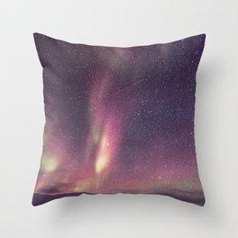 Aurora Borealis 3 Throw Pillow