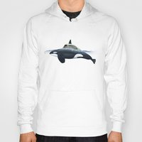 car Hoodies featuring killer car by Vin Zzep