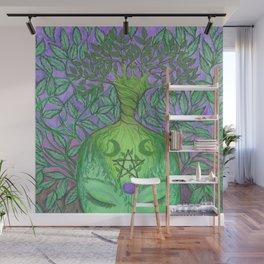 Earth Goddess Tree of Life Wall Mural