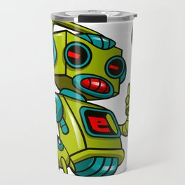 Retro Robot Travel Mug