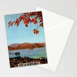 Stresa Borromeo Lake Maggiore 1927 Stationery Cards