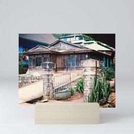 WOODEN HOUSE IN CAU DAT Mini Art Print