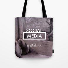 Social Media Tote Bag