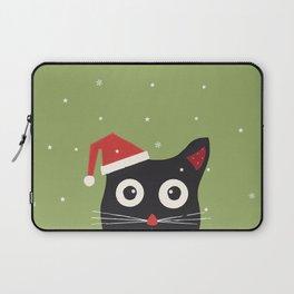 Christmas Cat Laptop Sleeve