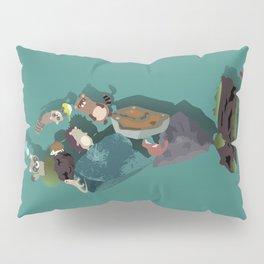 Animals and stones Pillow Sham