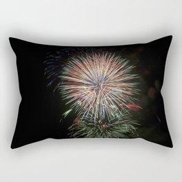 Fireworks make you wanna... (5) Rectangular Pillow