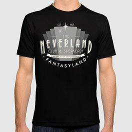 The Neverland Club and Speakeasy T-shirt