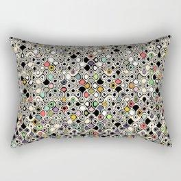 cellular ombre Rectangular Pillow