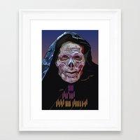 skeletor Framed Art Prints featuring SKELETOR  by TidyDesigns