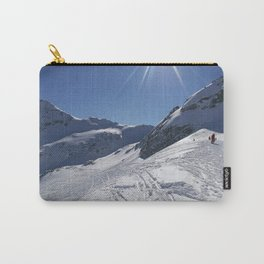 Up here, with sun and snow Carry-All Pouch