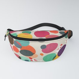 Lotus in koi pond Fanny Pack