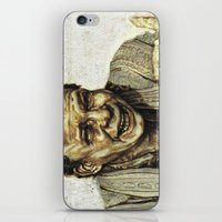princess bride iPhone & iPod Skins featuring Vizzini from Princess Bride by Aaron Bir