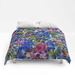 embossed floral Comforters