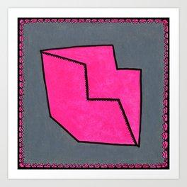 PINKKISS Art Print