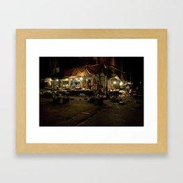 Damascus Market, Syria Framed Art Print