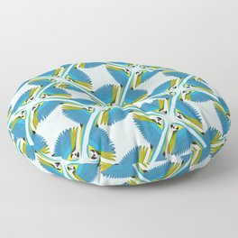 Parrots - Macaw Floor Pillow