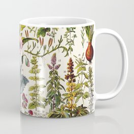 Adolphe Millot - Plantes Medicinales A - French vintage poster Coffee Mug