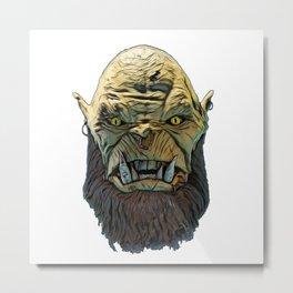 Ogre legendary monster large fairy tales legend infant Metal Print