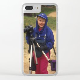 LIda at Yorktown Clear iPhone Case
