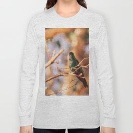 Bird - Photography Paper Effect 003 Long Sleeve T-shirt